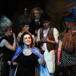 Sarah as the Witch in The JTPTrust production of Sondheim's 'Into the Woods'