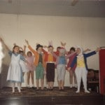 The original group of JT singers in 'Alice in Wonderland circa 1990